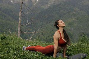 yoga & walking camp