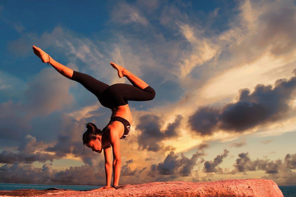 yoga, exercise, body